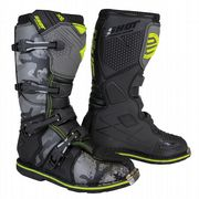 Shot X10 2.0 MX Boots Black/Camo